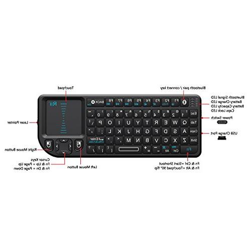 Rii Keyboard Pointer Smartphone Tablet,