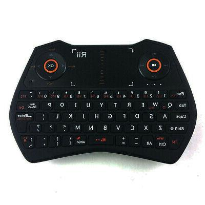 Rii Wireless i28 Mini Keyboard AirMouse Touchpad Voice for P