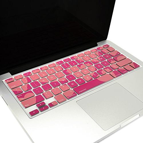 TOP CASE - Heart-Shaped Series Keyboard Cover Skin Compatibl