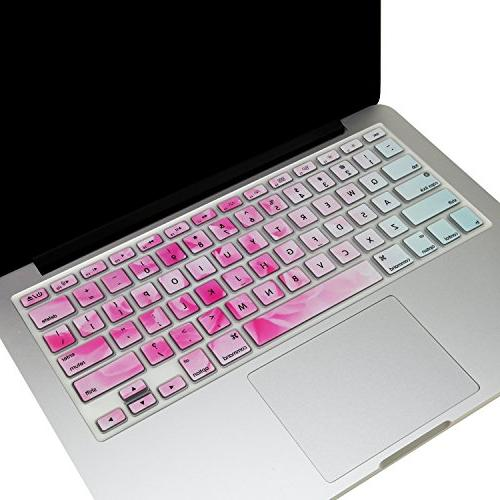 TOP CASE - Ultra Thin Silicone Keyboard Cover Compatible wit