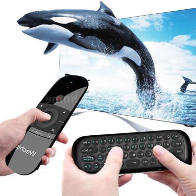 Wechip W1 4-in-1 Wireless 45 Keys Keyboard TV Box Air Mouse