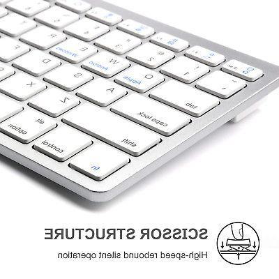 Wireless Bluetooth Keyboard iPads Android