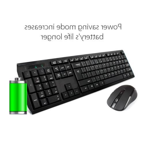 Wireless Keyboard UHURU 2.4GHz Combo for