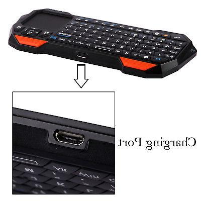 Wireless mini Bluetooth Keyboard Touchpad Windows Android