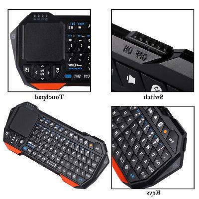 Wireless Bluetooth Keyboard Touchpad Windows Android iOS