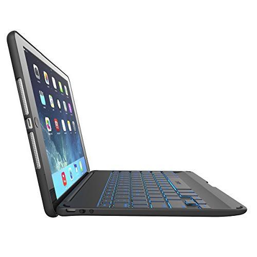 ZAGG with Backlit iPad