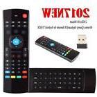 Airmouse  Air Mouse Wireless Keyboard TV Mini Keyboard Gamin