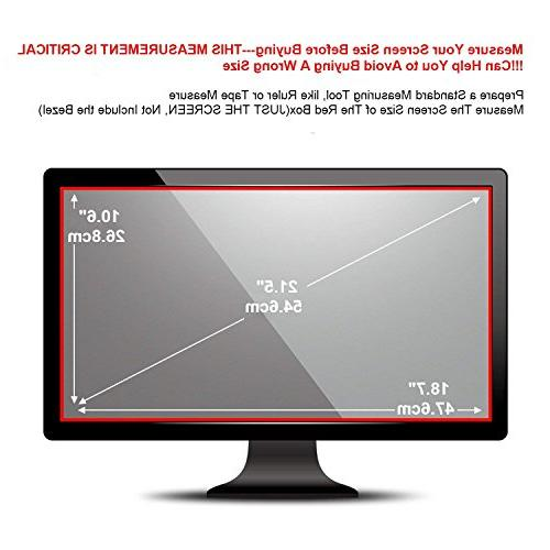21.5 Glare Protector Compatible for of 16:9 Monitor
