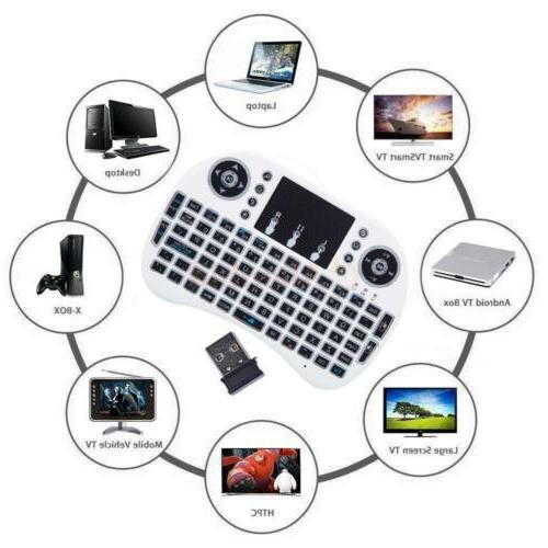 1x Colors Backlit 2.4GHz Keyboard for Android