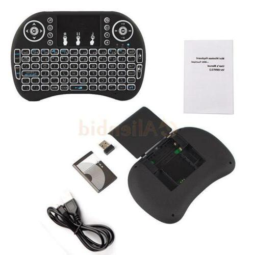 1x 3 2.4GHz Wireless Touchpad for TV Box Android