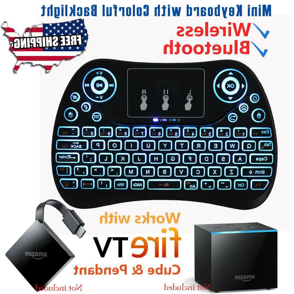 BACKLIGHT/BACKLIT Wireless Bluetooth Keyboard for Amazon Fir