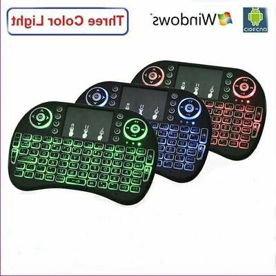 backlight mini i8 wireless 2 4ghz keyboard