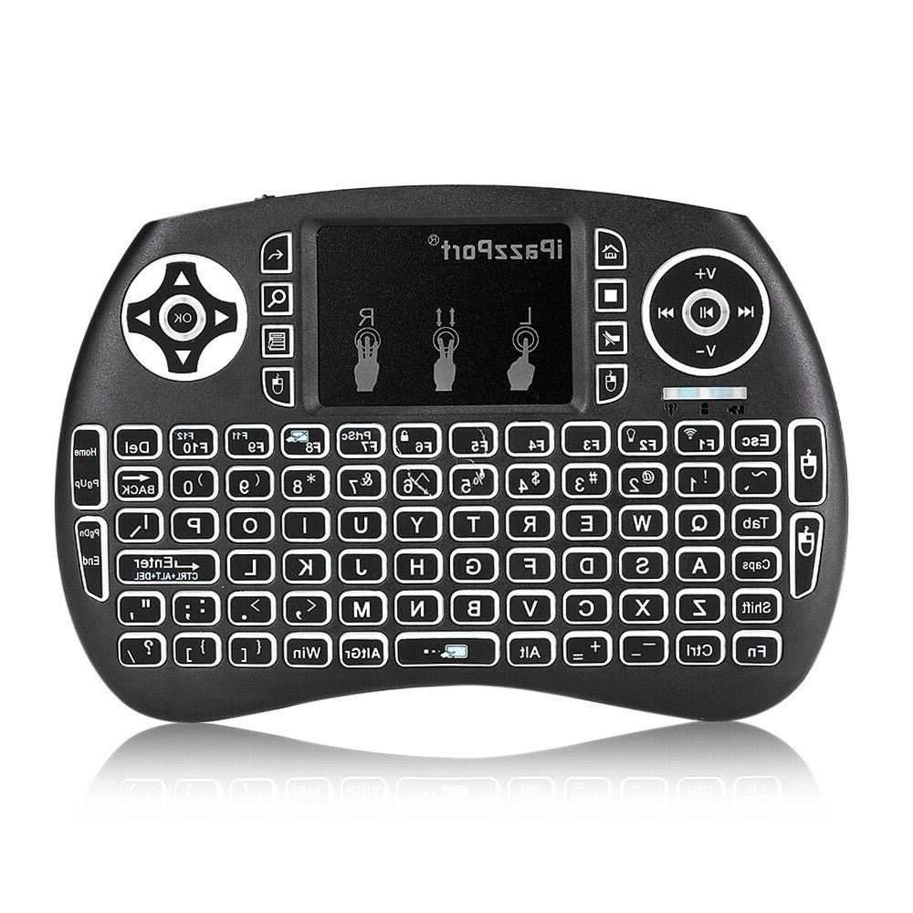 BACKLIGHT Keyboard i8 2.4GHz with Touchpad for PC SNU