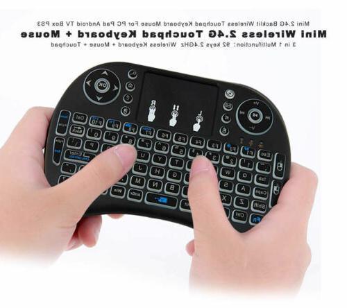 2.4GHz LED Keyboard Smart Tablet