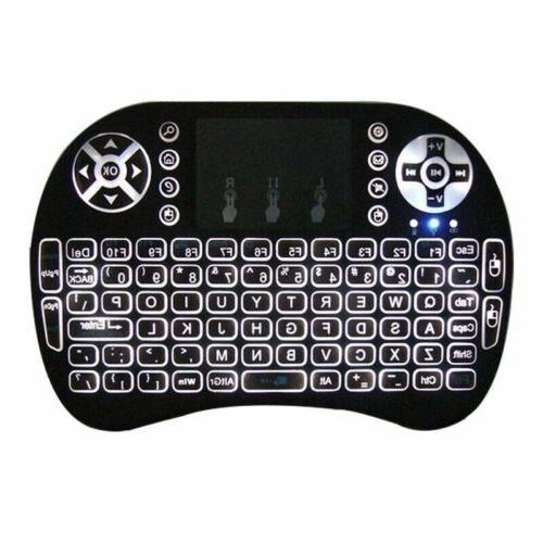 2.4GHz LED Keyboard Smart TV Tablet
