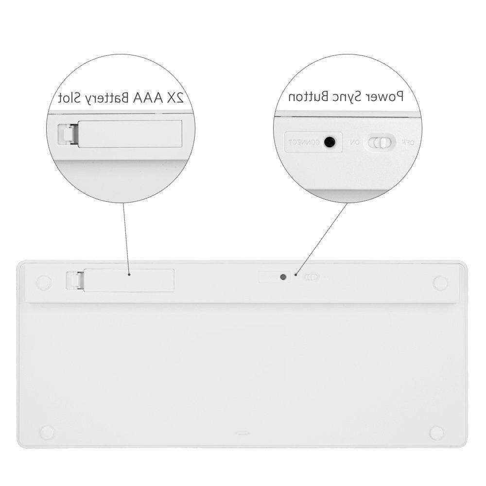 Bluetooth 3.0 Wireless for Apple 1 2 3 4 Mac Computer Macbook