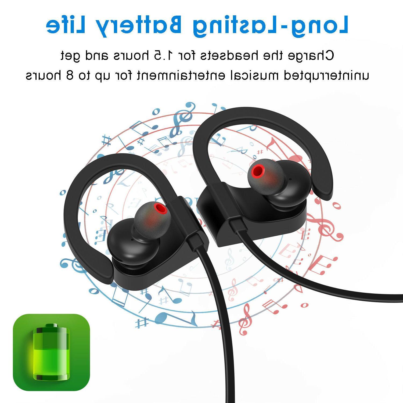 JETech Headphones Sport Wireless Earphones Stereo