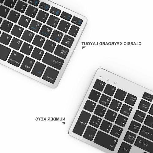 Bluetooth Rechargeable Keyboard