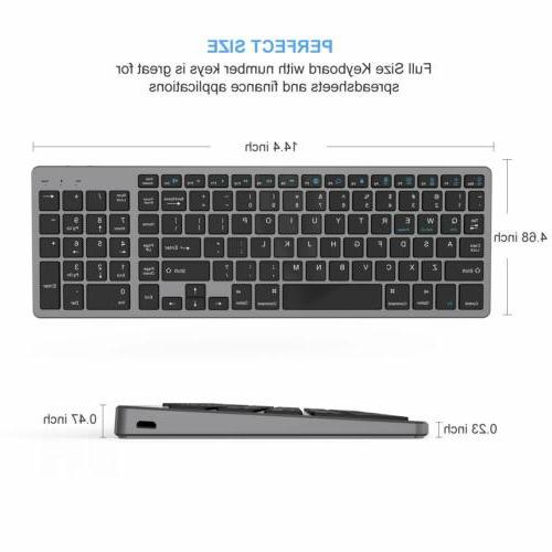 Bluetooth Rechargeable BT Keyboard