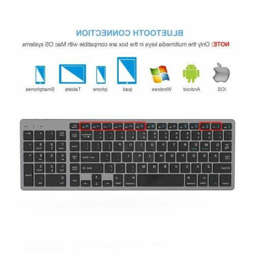Bluetooth Rechargeable Portable Keyboard