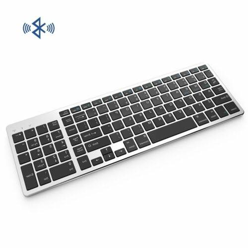 Bluetooth Keyboard, Vive Comb Rechargeable Keyboard
