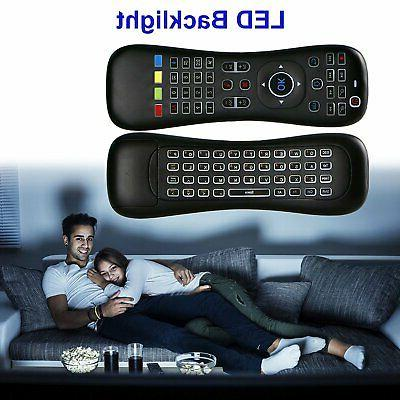 2.4G Keyboard Air Mouse for Mini Remote Control