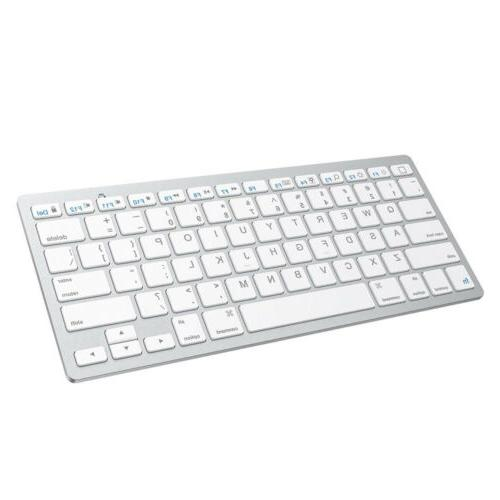 Bluetooth Wireless Keyboard Cordless For iMac Tablet Mac OS