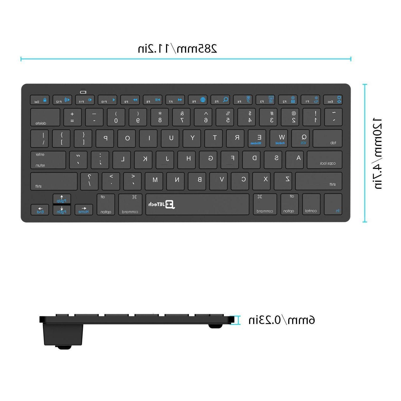 JETech Bluetooth Wireless Keyboard for iPad Mini, iPad Ta