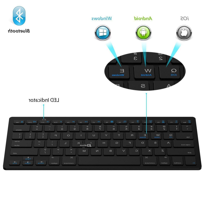 JETech Bluetooth Keyboard for iPad iPad iPad iPad 234, Galaxy