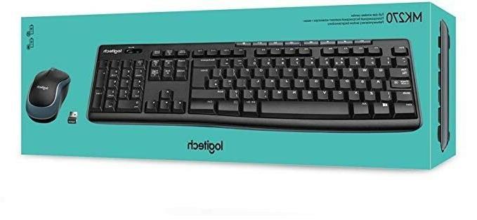 brand new mk270 wireless combo keyboard