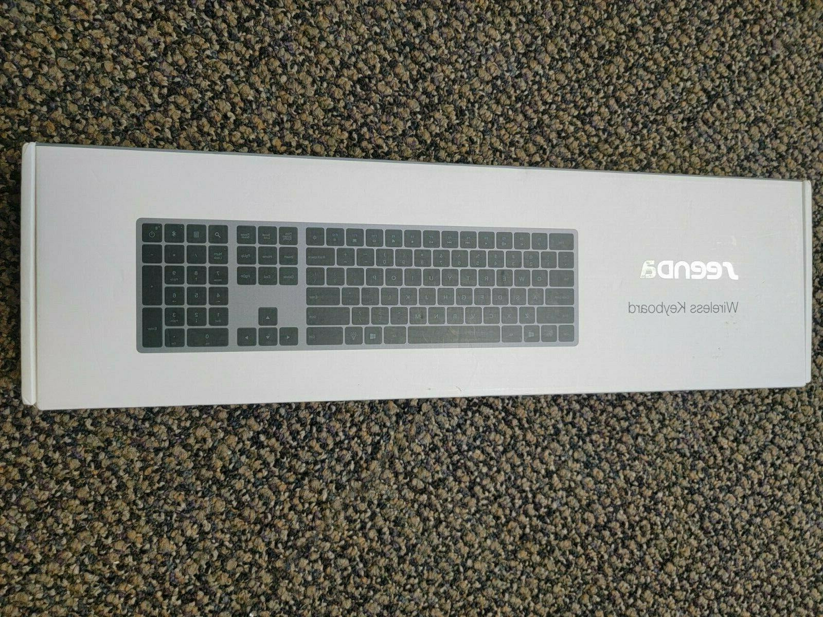brand new wireless keyboard w protective cover