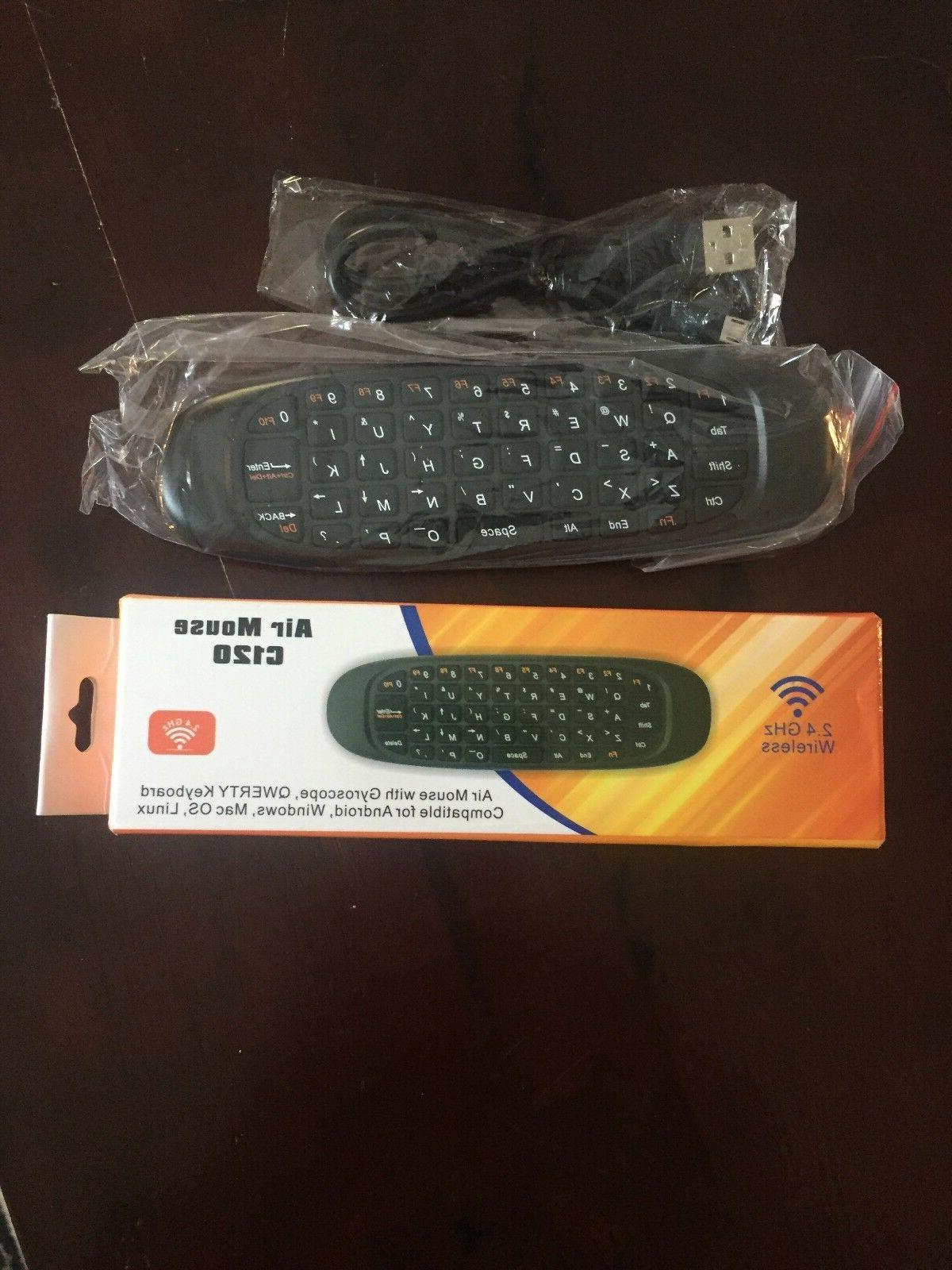 c120 2 4ghz air fly mouse wireless