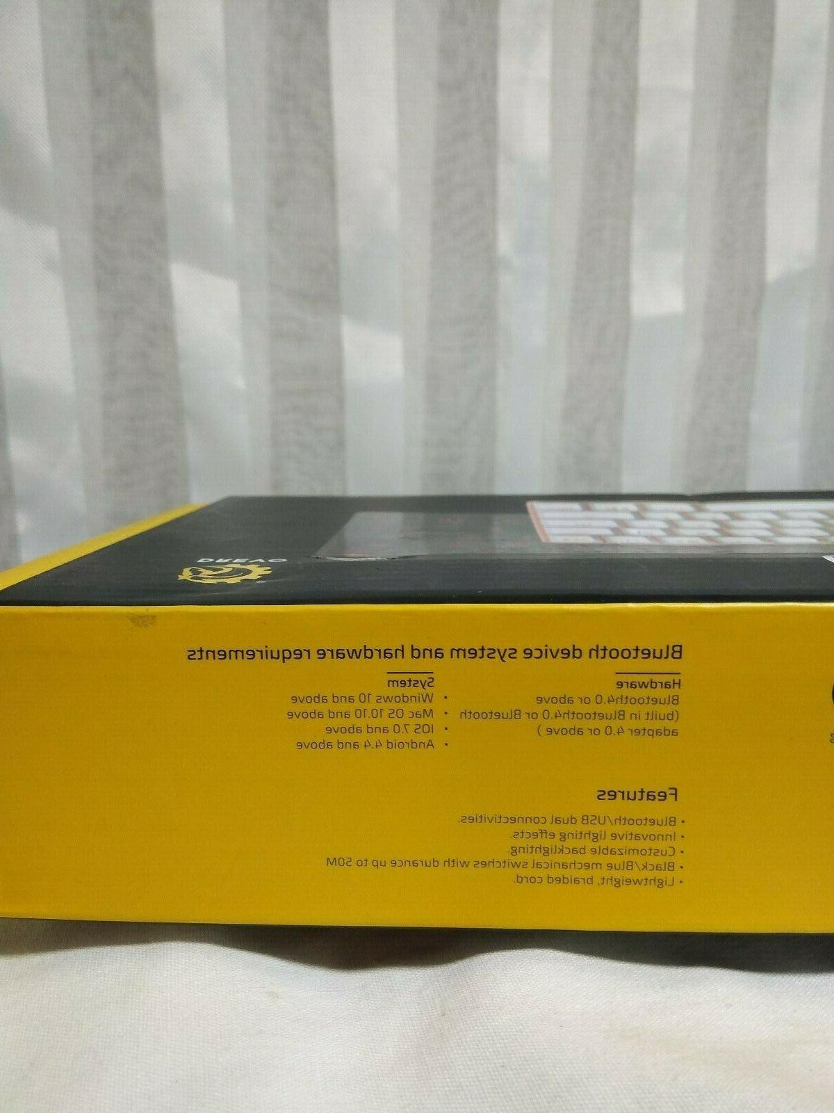 DREVO 71-Key LED Backlit Mechanical