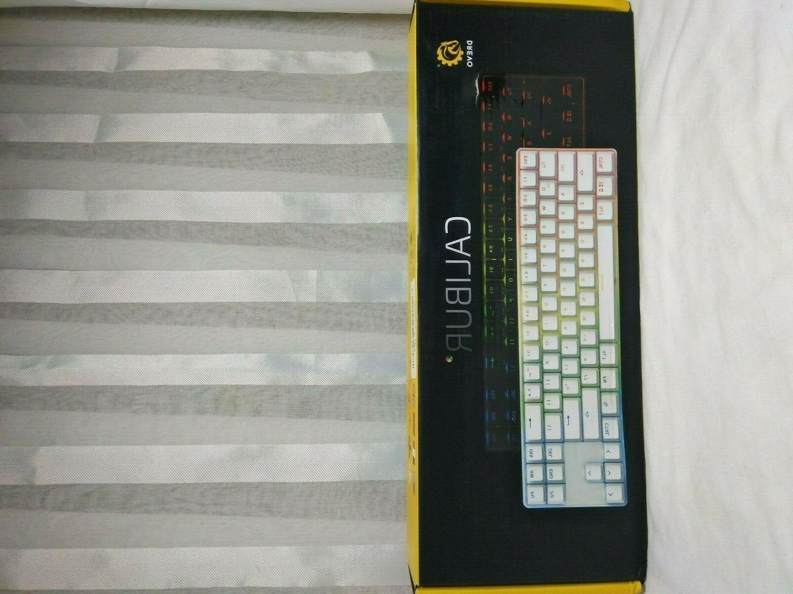 calibur 71 key rgb led backlit wireless