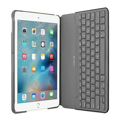 Logitech Keyboard/Cover for iPad Air - Black Resistant Canvas