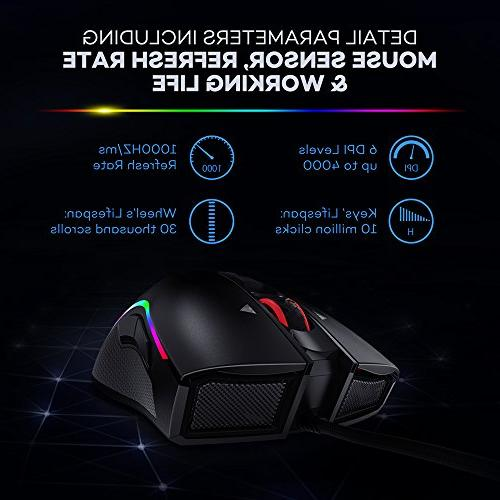 VAVA Mouse with Million RGB with Design