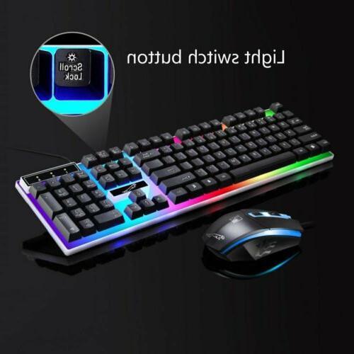 Computer Keyboard and Led Light Backlit