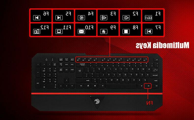 E-780 2.4GHz Ultra-Slim Gaming