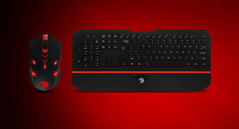 E-780 Gaming Keyboard Bundles W/USB Dongle