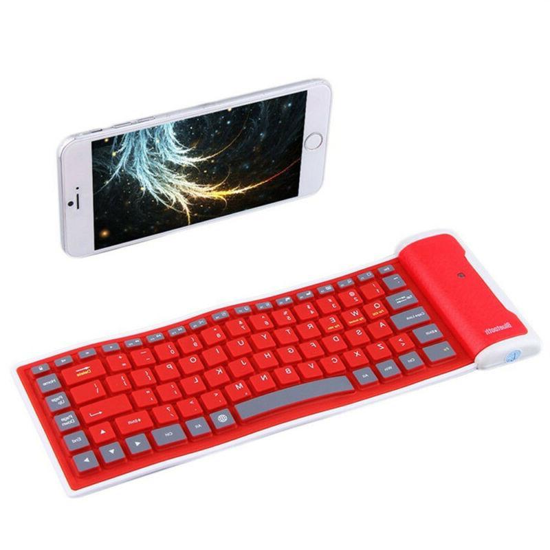 Foldable Waterproof Keyboard PC