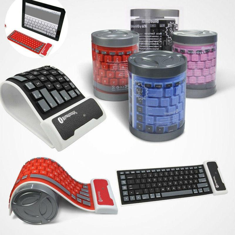 foldable wireless bluetooth silicone waterproof flexible key