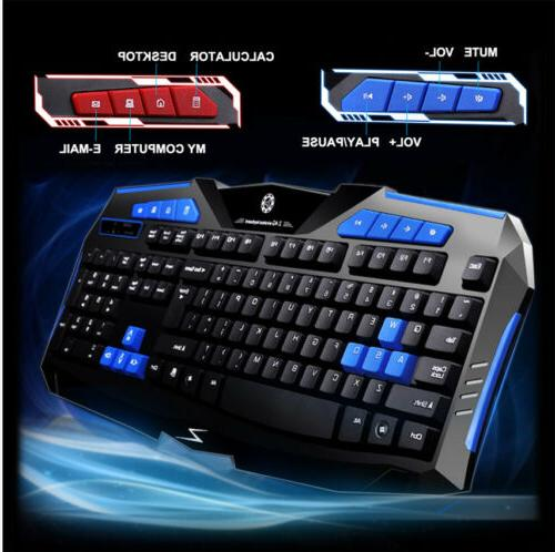 Gaming Wireless 2.4G Keyboard and for Gamer
