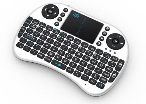 Genuine i8 2.4Ghz Wireless Keyboard TouchPad for Smart PI