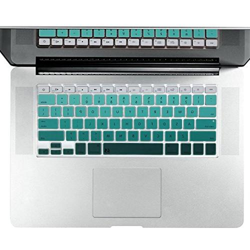 green series silicone keyboard cover