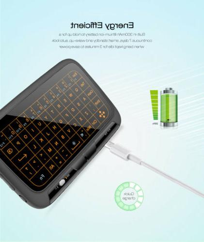 H18+ Keyboard Mouse for Windows Android BOX