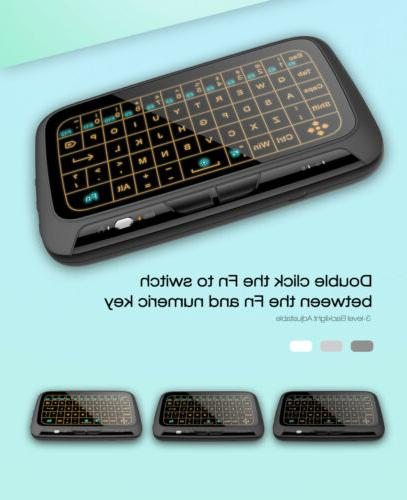 H18+ 2.4G Wireless Keyboard Mouse for Android TV BOX