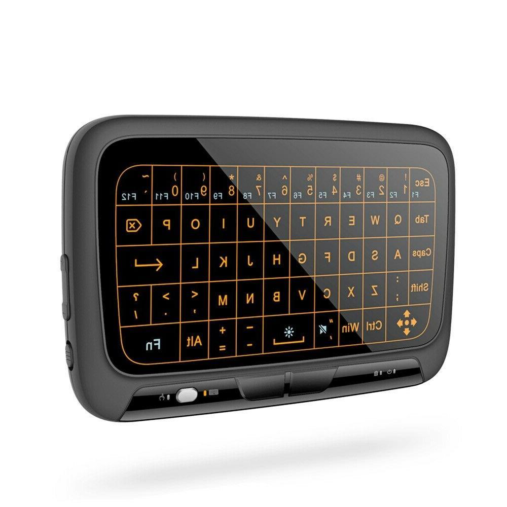 h18 2 4g mini wireless keyboard full