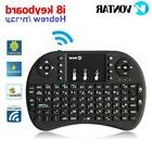 Hebrew Mini i8 2.4GHz Wireless Keyboard Touchpad remote for