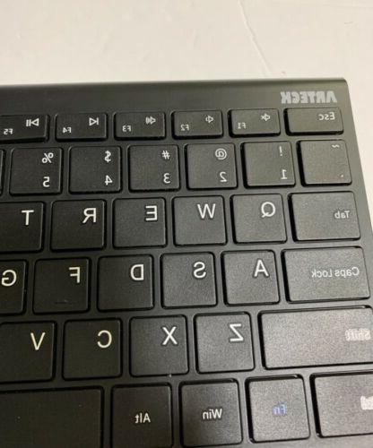 Arteck Keyboard Ultra Black