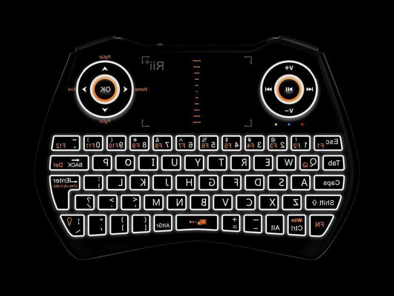 Rii i28C 3 1 Keyboard Rechargable